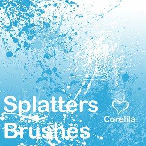 splatter_brushes_by_corelila