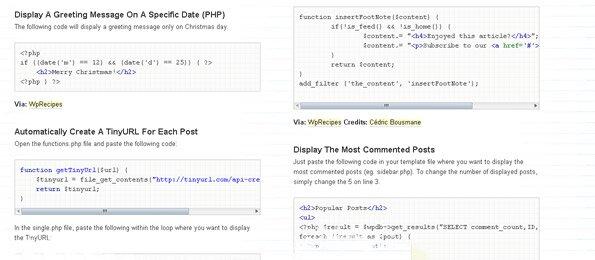 20+ наворотов в коде wordpress
