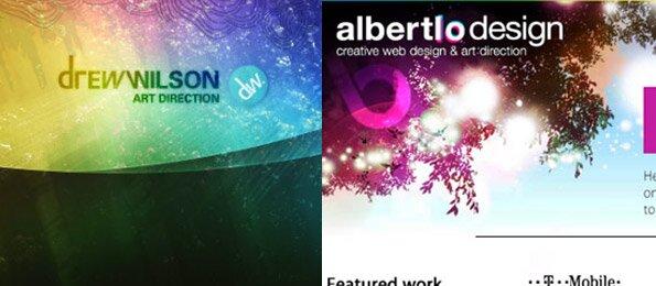 25+ примеров эффективного использования эффекта glow в вэб дизайне
