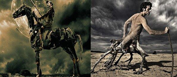 40 отлично сделанных работ в Photoshop