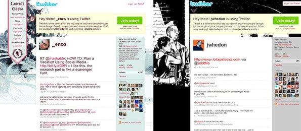 100 креативных бэков для twitter