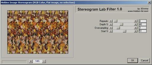 Stereogram Lab Filter