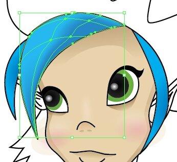 Рисуем части лица в Illustrator