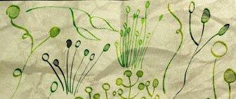Кисти в виде травы