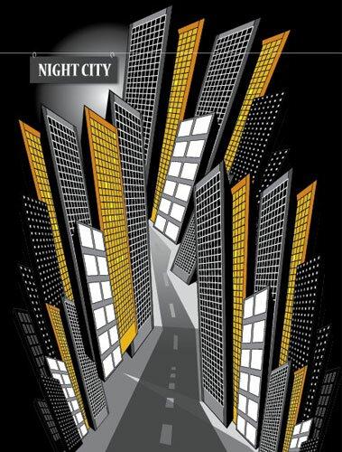 Рисуем город в векторе