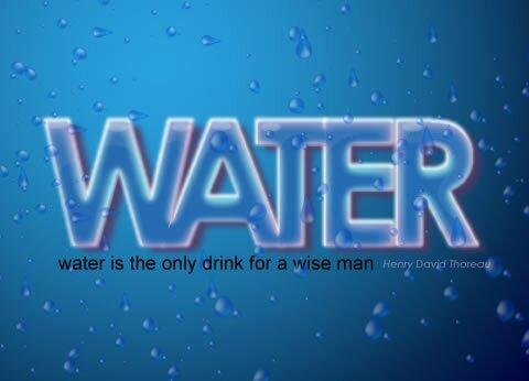 Классный водяной эффект