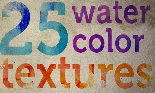 25 бесплатных высококачественных текстур в водном стиле.