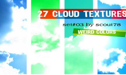 Текстура облака.