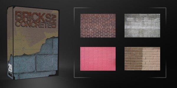 Кирпичи и бетон
