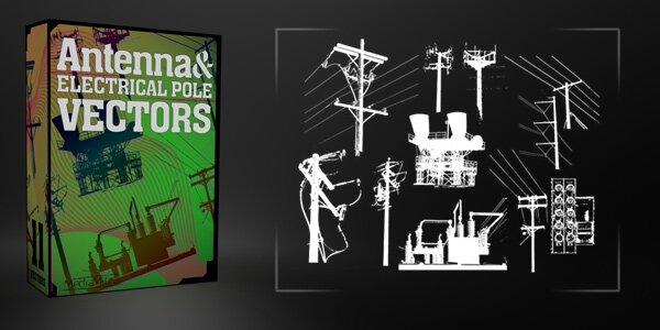 Аннтены и электропути - 11 векторов