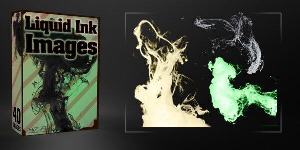 Подборка из 40 фото размытых чернил ил дыма.