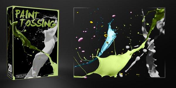 Пакет разбрызгивания краски